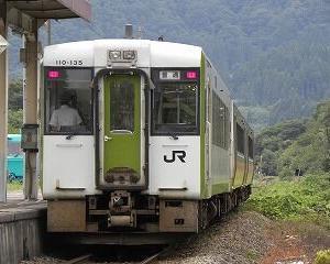 懐かしいかな キハ110系 磐越西線