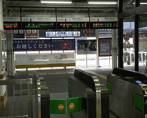 今日の会津若松駅 E721系・GV-E400系・キハE120系・AT500形
