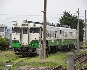 懐かしいかな キハ40・キハ110 会津若松駅