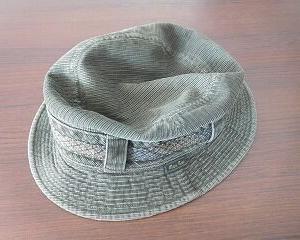 帽子を変える