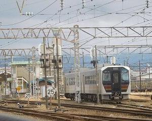 今日の会津若松駅 GV-E400系・キハE120系・E721系・719系フルーティア