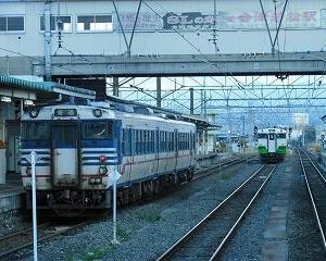 懐かしいかな キハ47・キハ40 会津若松駅