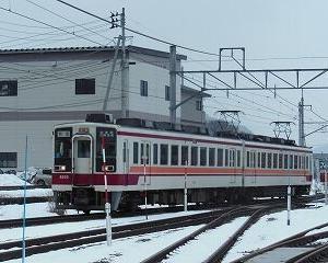懐かしいかな 東武6050系 会津田島駅構内