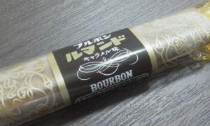 今夜の甘い物 ブルボン ルマンド キャラメル味