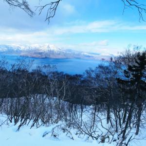 滑落事故もあり得た風不死岳の冬山登山