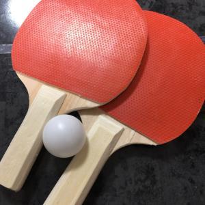 次は卓球。
