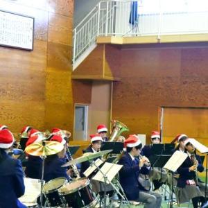 令和元年度 県立佐和高等学校吹奏楽部 クリスマスコンサート