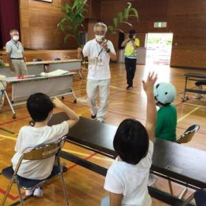 小学部3年 特別活動「地域の人と遊ぼう」