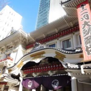 十二月大歌舞伎 『実盛物語』 『 土蜘』