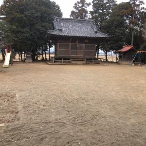 神社にある公園