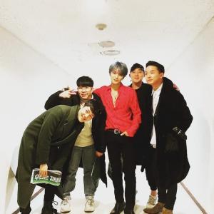 ジェジュンと軍隊仲間たち<sangwoo_nim IG>200119
