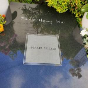ジェジュンがヨンハさんのお墓参り<jj_1986_jj IG>200705
