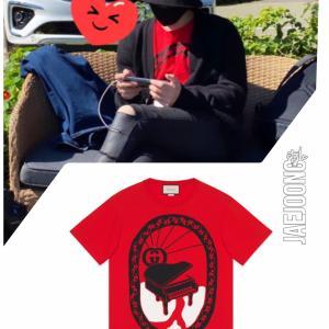 ジェジュン着用Tシャツ「GUCCI」JJ IG Storyにて(201024)