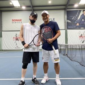 ジェジュン今日もテニス練習<hyungtaik_lee IG>210928