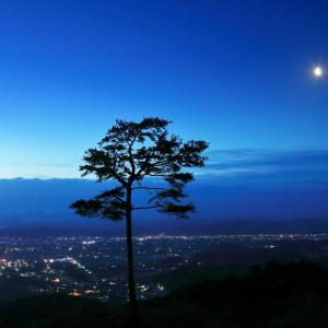夜明け前の横手盆地