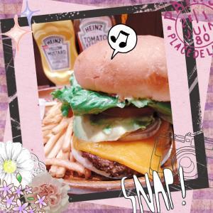 ☆ご褒美のハンバーガー☆