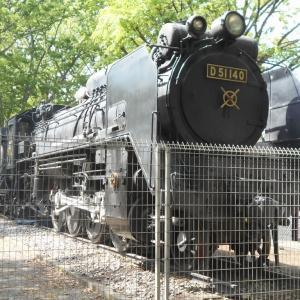 蒸気機関車D51 140(埼玉県熊谷市)