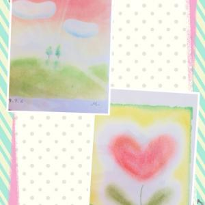 ●初体験!指で画用紙にパステルん♪横浜みなとみらい桜木町 東京阿佐ヶ谷