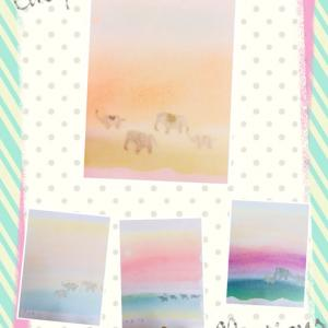 ●世田谷成城へ出張パステルアートん♪~横浜みなとみらい桜木町 東京阿佐ヶ谷