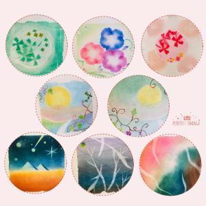 ●カラフル作品に癒されて〜パステルアート横浜みなとみらい桜木町
