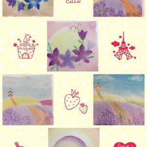 ●お友達とパステルアートin横浜みなとみらい桜木町