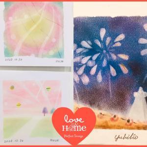 ●パステルアート体験と花火☆in横浜みなとみらいサロン