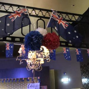 オーストラリアデー、パブ、オーストラリアのポテトチップ!