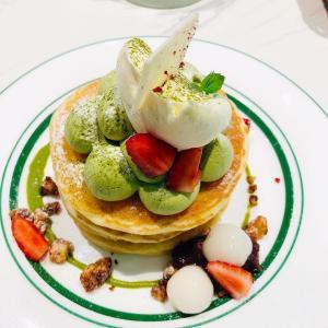 オーストラリア シドニー 【カフェで抹茶のパンケーキ】