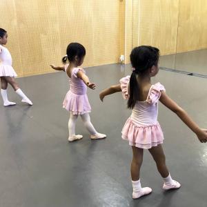 幼児バレエクラス 新規受講生募集