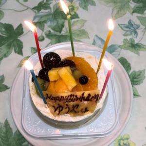 誕生日祝いに