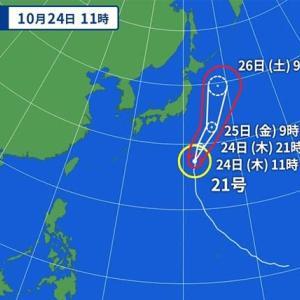 <10/24> 10時過ぎから北東強風に!