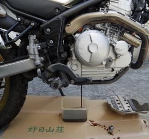 SEROW250の気まぐれ整備(エンジンオイル交換など)
