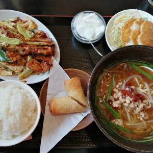 四海聚 東方店の回鍋肉定食