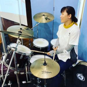 ドラム初体験!
