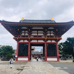 台風一過 今日はお寺にお参りの1日です