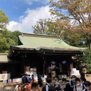 初めて行く神社