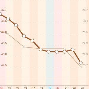 【136日目】スタートから -17.9kg