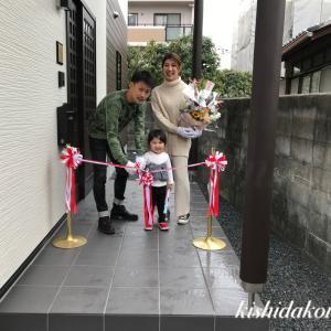 京都市南区T様邸 お引渡し式 笑顔溢れる幸せの家づくり(株)岸田工務店