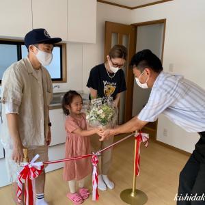 京都市上京区リフォーム工事 お引き渡し式 ぬくもりの家づくり 岸田工務店