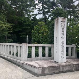 寒川神社の龍神
