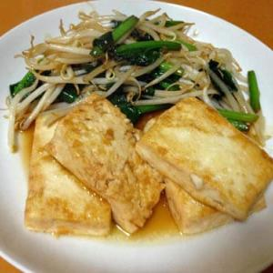 豆腐ステーキ