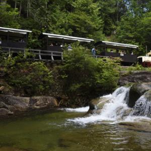 清涼味満点!! 真夏に訪れる赤沢森林鉄道