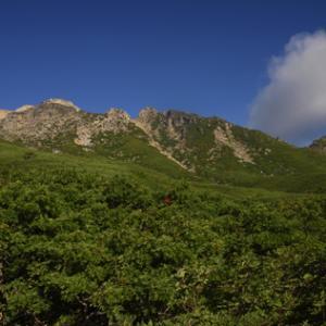 久しぶりの御嶽登山 八合目で広がる景観