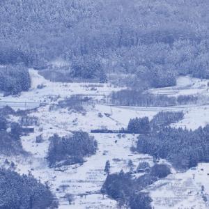 EF64四重連復路を篠ノ井から姨捨まで同一立ち位置から撮ってみた その2