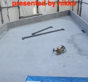 新築の現場の含水率の調査。