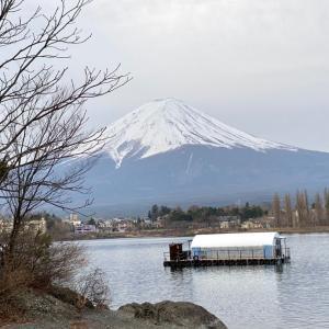 河口湖ドーム船わかさぎ釣り