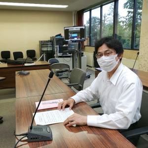 7月27日 本日は決算特別委員会におけるウエブ会議の打ち合わせを行い、夜には東京国立白うめロータリークラブ例会に出席しました