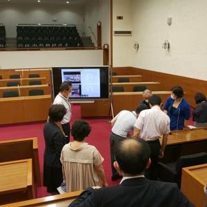 7月29日 本日は議会運営委員会においてウエブ会議の検証を行いました