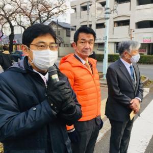12月2日 本日は矢川駅北口で朝の市政報告を行いました