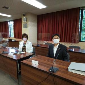6月17日 本日は福祉保険委員会に出席しました